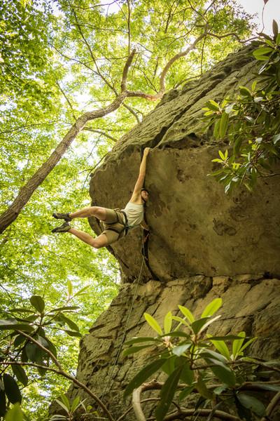 Rock Climbing Photo: Bat Eliminate