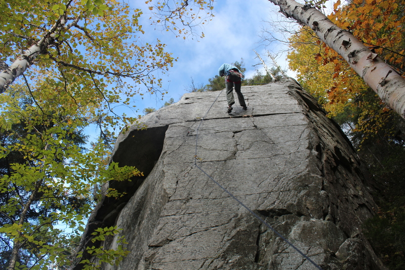 Rock Climbing Photo: Little Averill