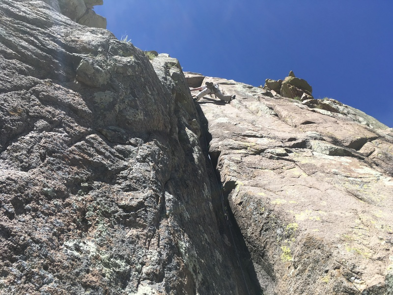 Marta Reece stemming the awesome dihedral on P2.