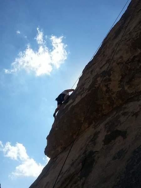 Rock Climbing Photo: Headstone in J-Tree