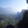 Sarca Valley, Italia.