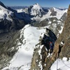 Me approaching Obergabelhorn, Zermatt Switzerland.