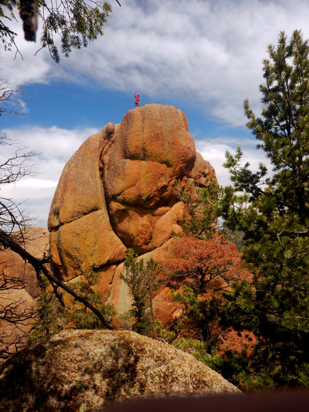 Rock Climbing Photo: Sisyphus Tower.