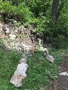 Rock Climbing Photo: The climbers trail to access Lower Tsunami, Tsunam...