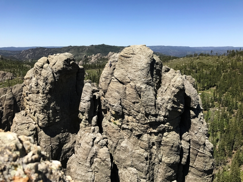 Rock Climbing Photo: Sam Carlson on spire 2