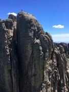 Rock Climbing Photo: Summit shot