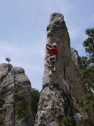 Rock Climbing Photo: Balancy crux