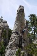 Rock Climbing Photo: Sam Carlson on ankles away