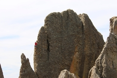 Rock Climbing Photo: Very cool route