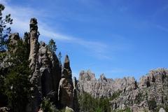Rock Climbing Photo: Kevin Baker enjoying the awesome exposure