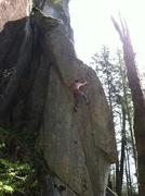 Rock Climbing Photo: Michal R on the 1st ascent