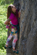 "Rock Climbing Photo: Fallon Rowe on ""Stormin Norman""--Photo b..."