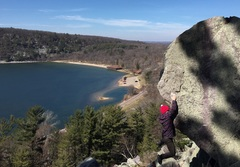 Rock Climbing Photo: Spring 2017