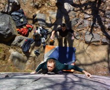 Rock Climbing Photo: Tom and Brandon from Spring 2017