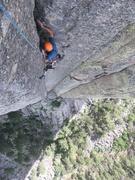 Rock Climbing Photo: Metal leg climbers! Assbley line