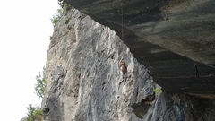 Rock Climbing Photo: Ever wondered what was hanging from the massive ro...