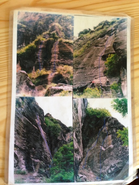 Rock Climbing Photo: Another view of the sport routes on the 'White Str...