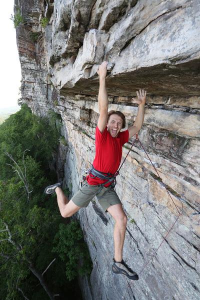 Rock Climbing Photo: no strain no pain