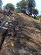Rock Climbing Photo: Adiya TRing Unknown 3.