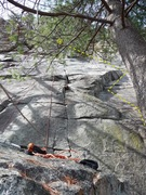 Rock Climbing Photo: LP is the right arching corner seen just left of t...