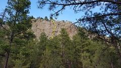 Rock Climbing Photo: Techo al Derecho  (5.8)