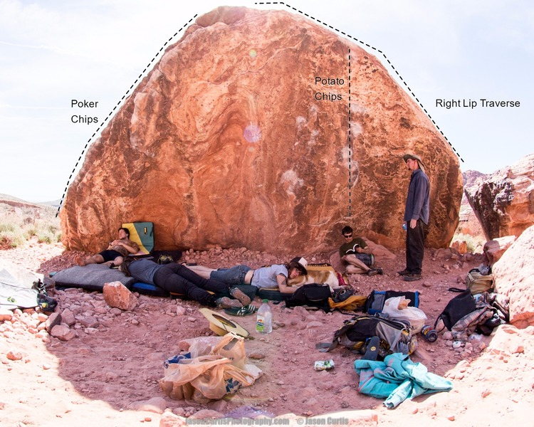 Rock Climbing Photo: Naptime at Potato Chip