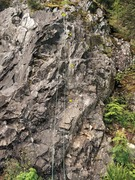 Rock Climbing Photo: Easy street. Very short. Rightmost route.