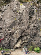 Rock Climbing Photo: Left rope: Your Sister Right rope: Easy Street