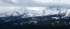 Rock Climbing Photo: From Tumalo Mtn.