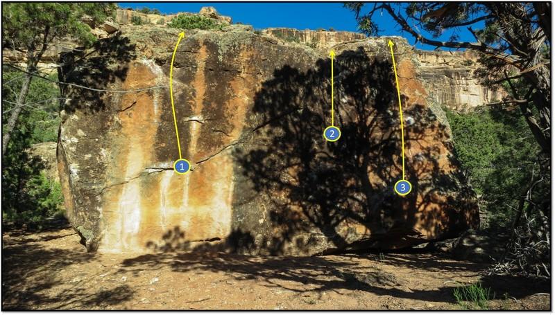Rock Climbing Photo: 2. Afterimage.
