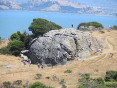 Rock Climbing Photo: Split Rock from afar