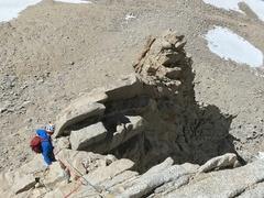 Rock Climbing Photo: Fishhook Arete, Mount Russell