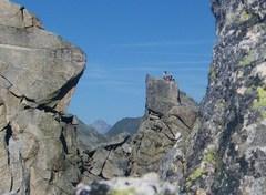 Rock Climbing Photo: View from Via Felici
