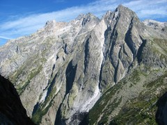 Rock Climbing Photo: View from Via Felici
