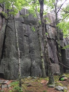 Rock Climbing Photo: Zigzag crack
