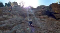 Rock Climbing Photo: Buddy Andy on Body Count.