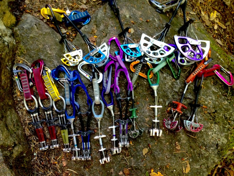 """Rock Climbing Photo: Cams used for linking """"Submission,"""" into..."""