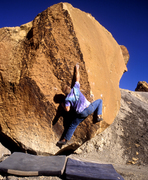 Rock Climbing Photo: The battleship gray Tropic Shale makes for good ph...
