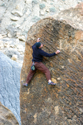 Rock Climbing Photo: Very unique to say the least.  Jonathan Prather on...