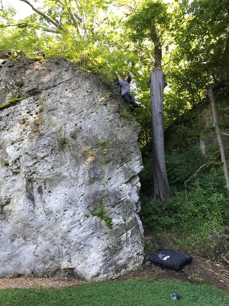 Rock Climbing Photo: Why do they call it that?