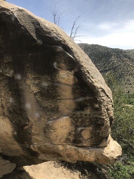 Rock Climbing Photo: Duck Tales Boulder