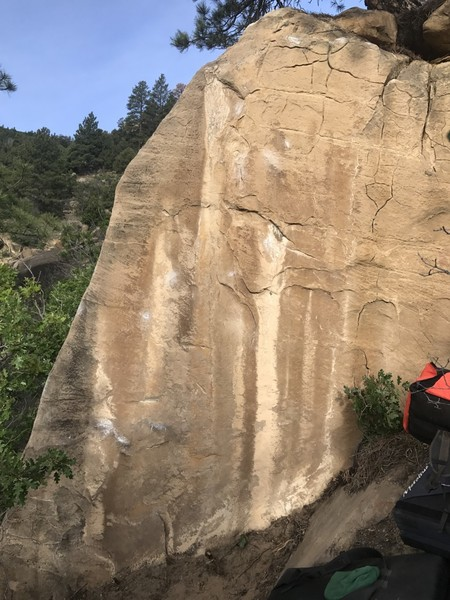 Rock Climbing Photo: Amplitude boulder