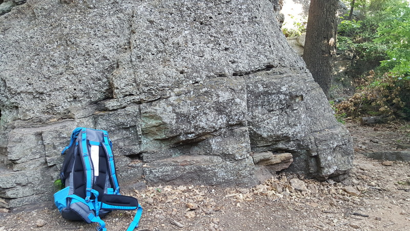 """Rock Climbing Photo: That is the """"mini nose"""" sticking out on ..."""