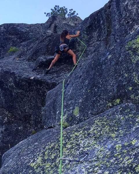 Rock Climbing Photo: Destiny Marquez on Misfire 10a