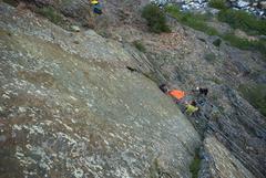 Rock Climbing Photo: The hang