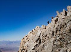 Rock Climbing Photo: Somewhere midway up the ridge