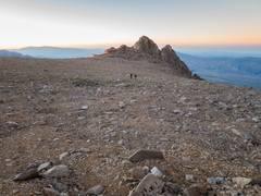 Rock Climbing Photo: summit plateau