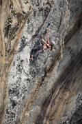 Rock Climbing Photo: Megan climbing Ride The Woody