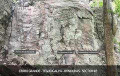Rock Climbing Photo: Sector 2 Map