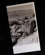 Rock Climbing Photo: James Q Martin attempting Mrs. Balbricker as Mike ...